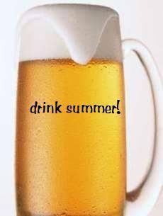 夏 生ビール
